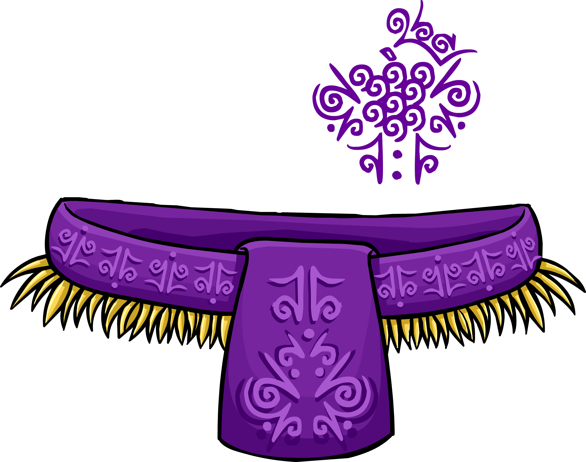 Grape Tiki Costume