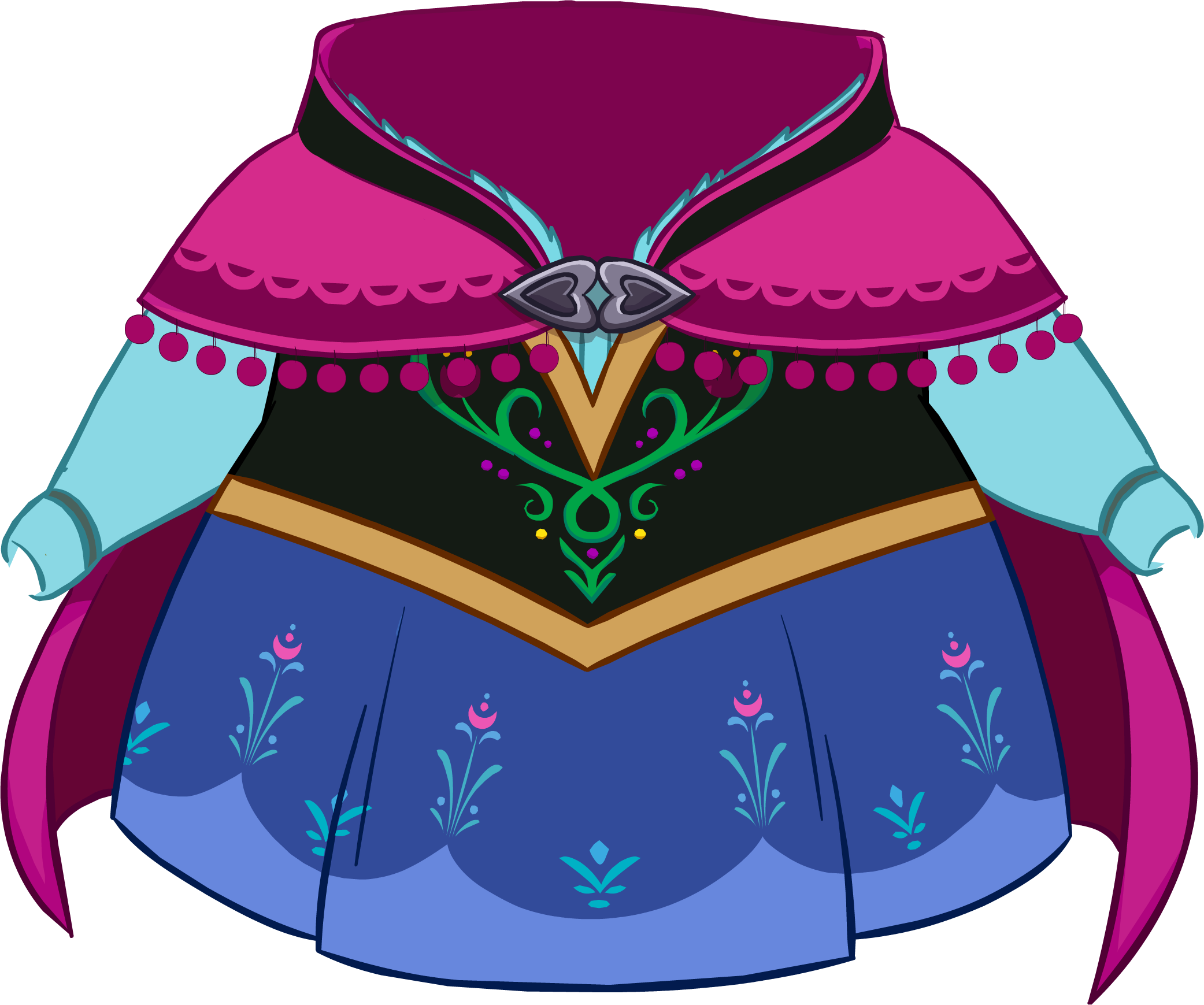 Anna's Traveling Clothes