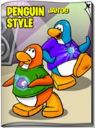 Penguin Style Glitch