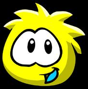 Yellow PuffleStare