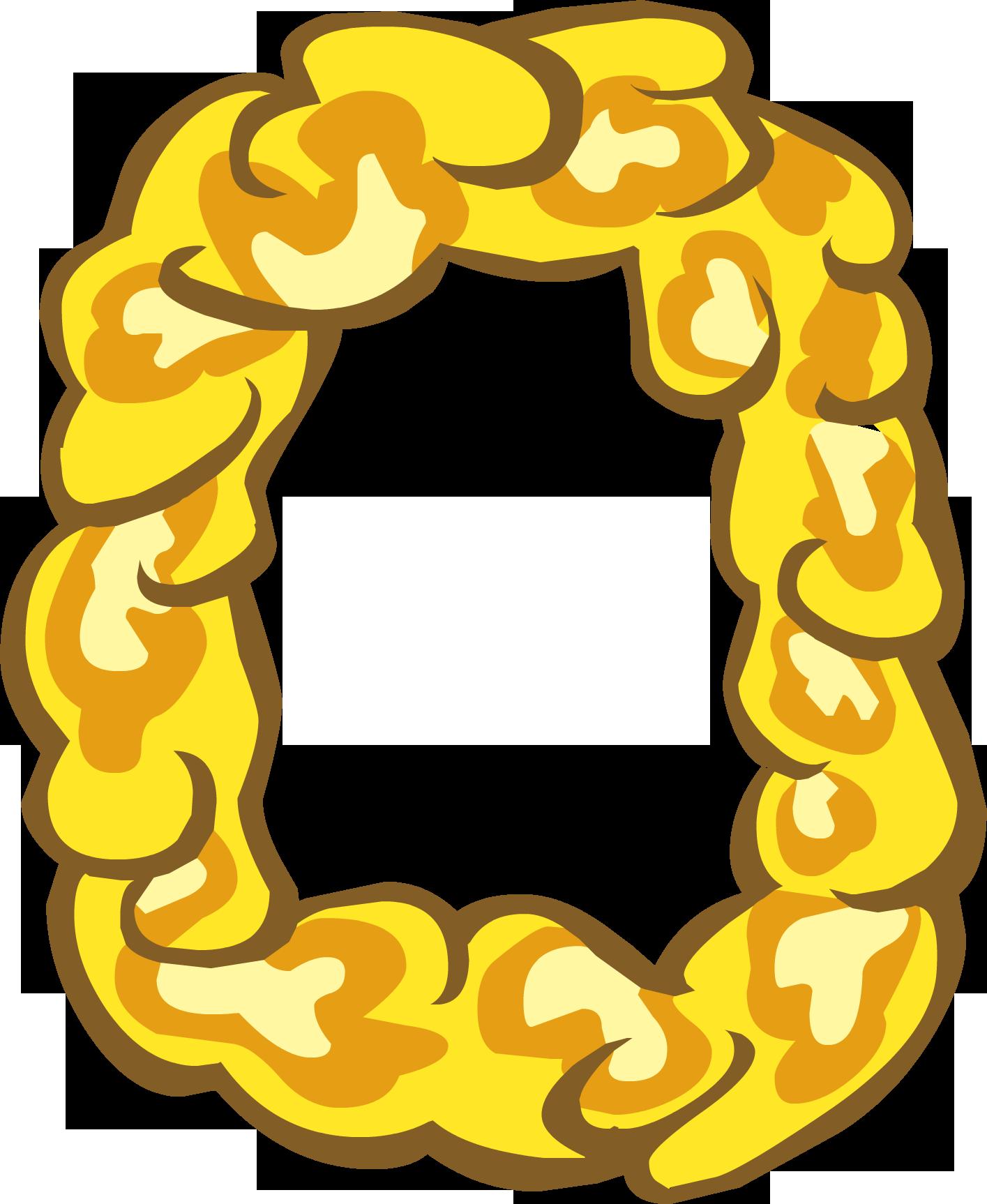 Collar de Flores de Oro