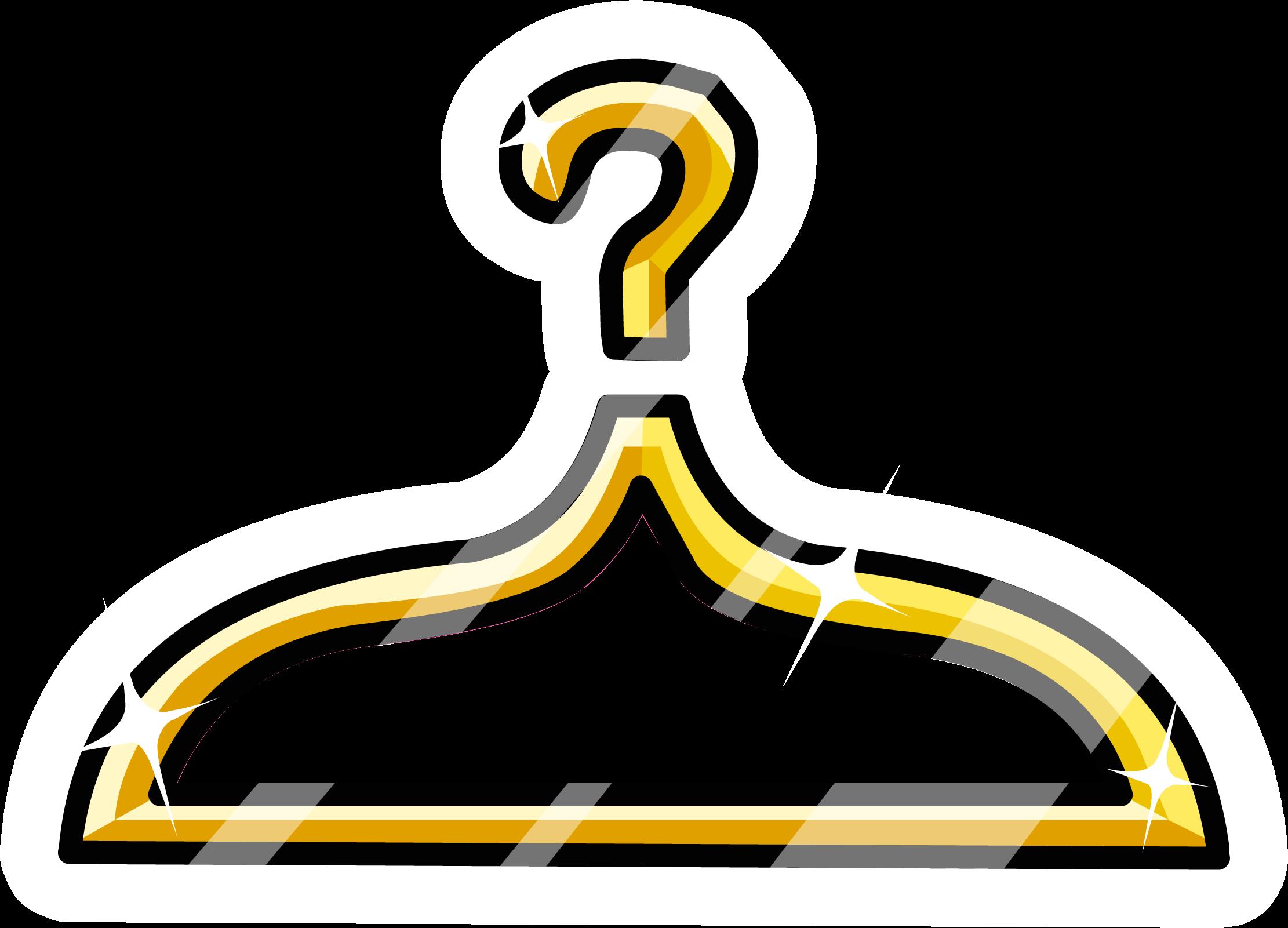 Golden Hanger Pin