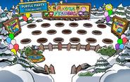 10th Anniversary Party Puffle Feeding Area