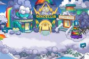 Rainbow Puffle Party Center
