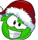 Yoshi puffle santa