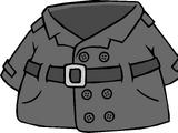 Abrigo de Detective Gris