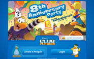 8th Anniversary Login