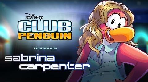 Club Penguin entrevista con sabrina carpenter