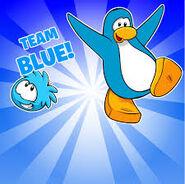 Fondo equipo azul