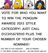 Penguin Awards!