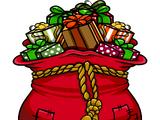 Saco de Regalos de Santa Claus