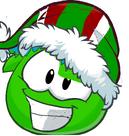 Yoshi puffle elf