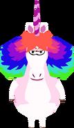 Rainbow Unicorn In Game