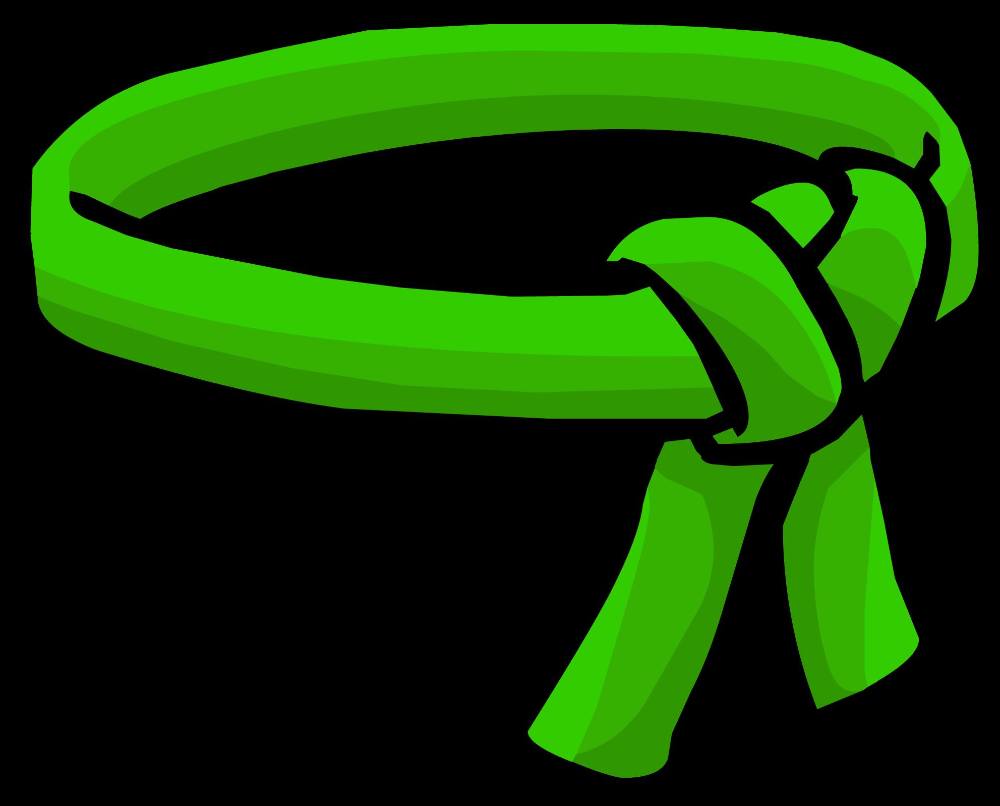 Cinturón de Ninja Verde