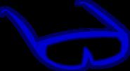 Blue Sunglasses Old