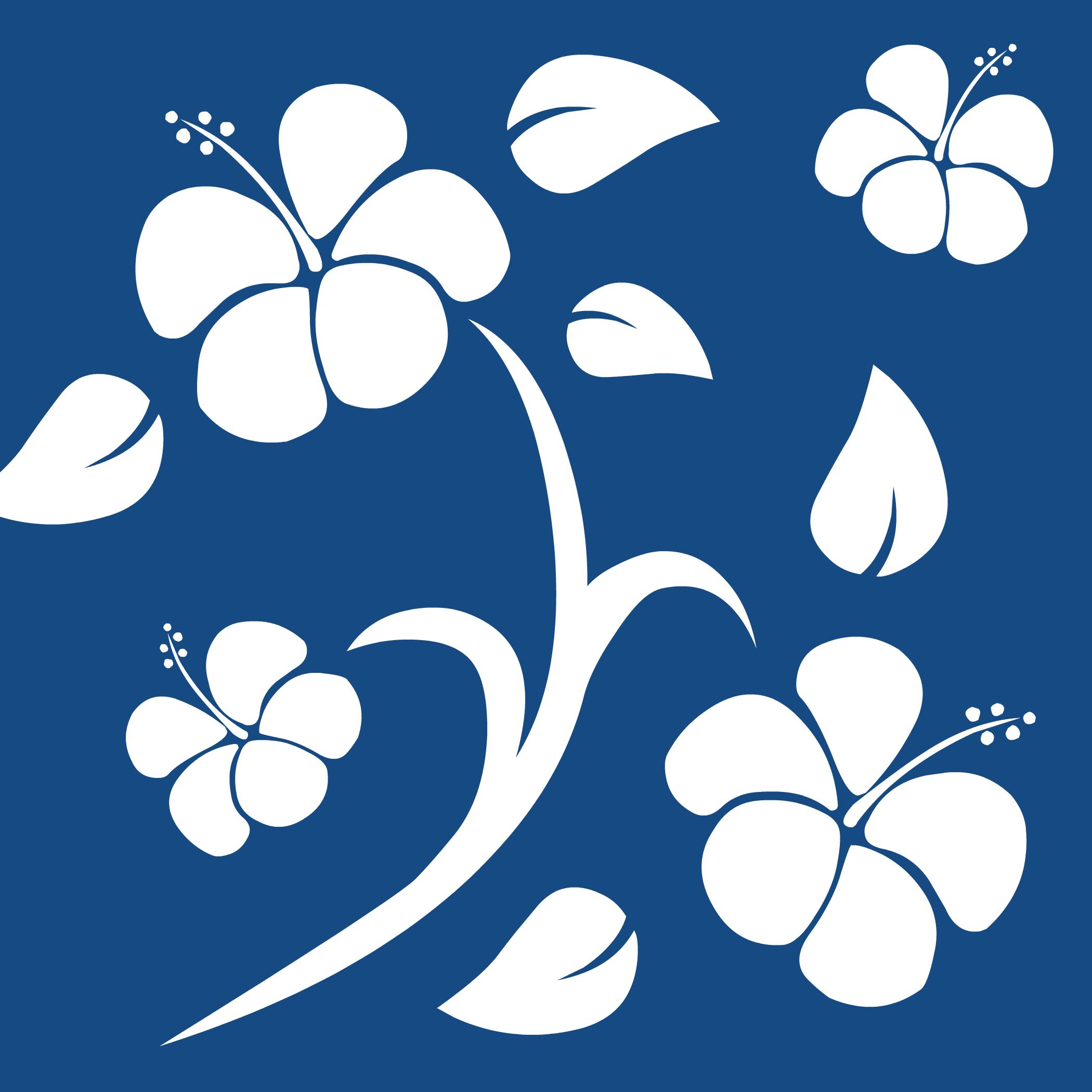 Fondo Hawaiano Azul