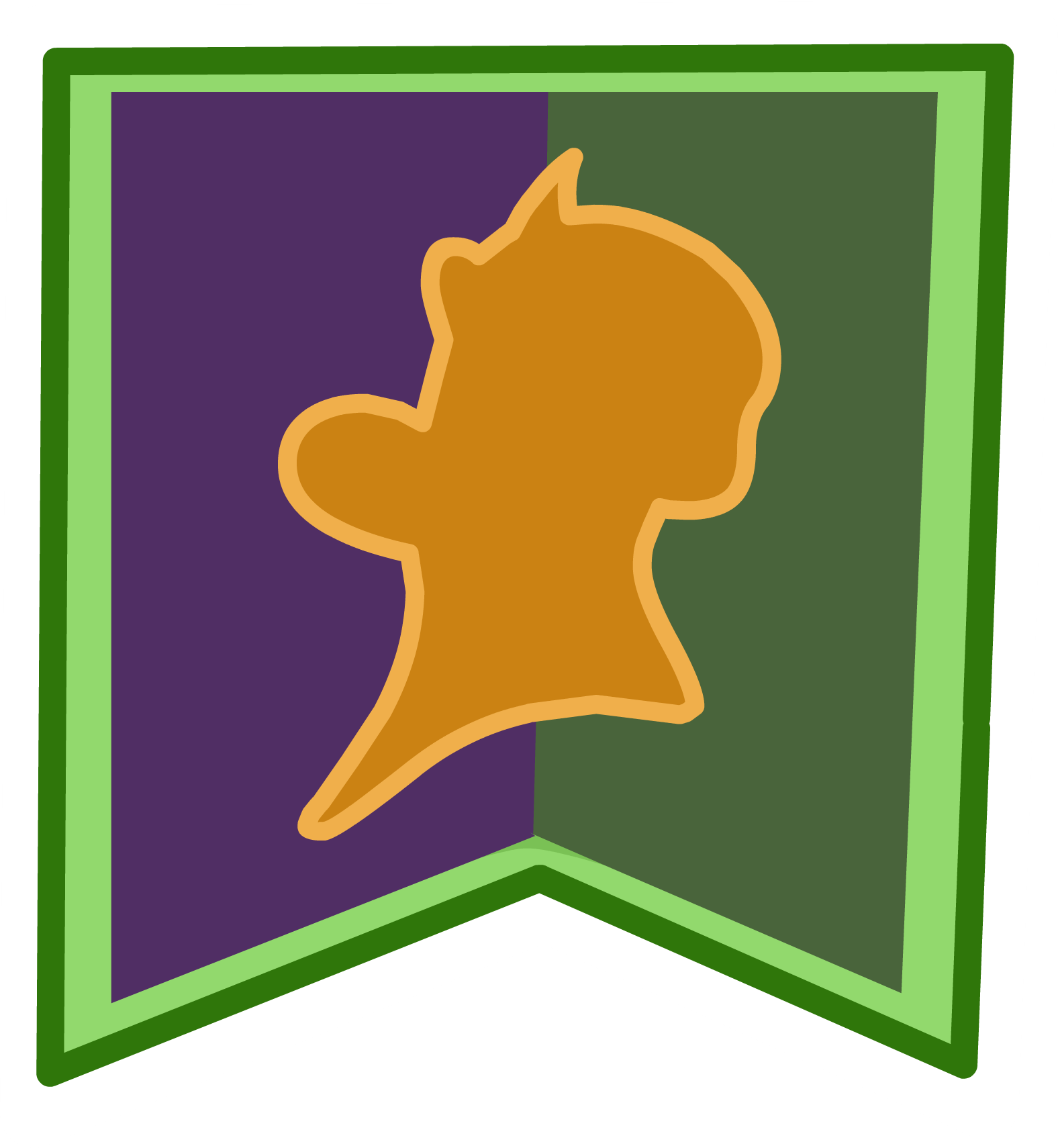 Arendell Crest Pin