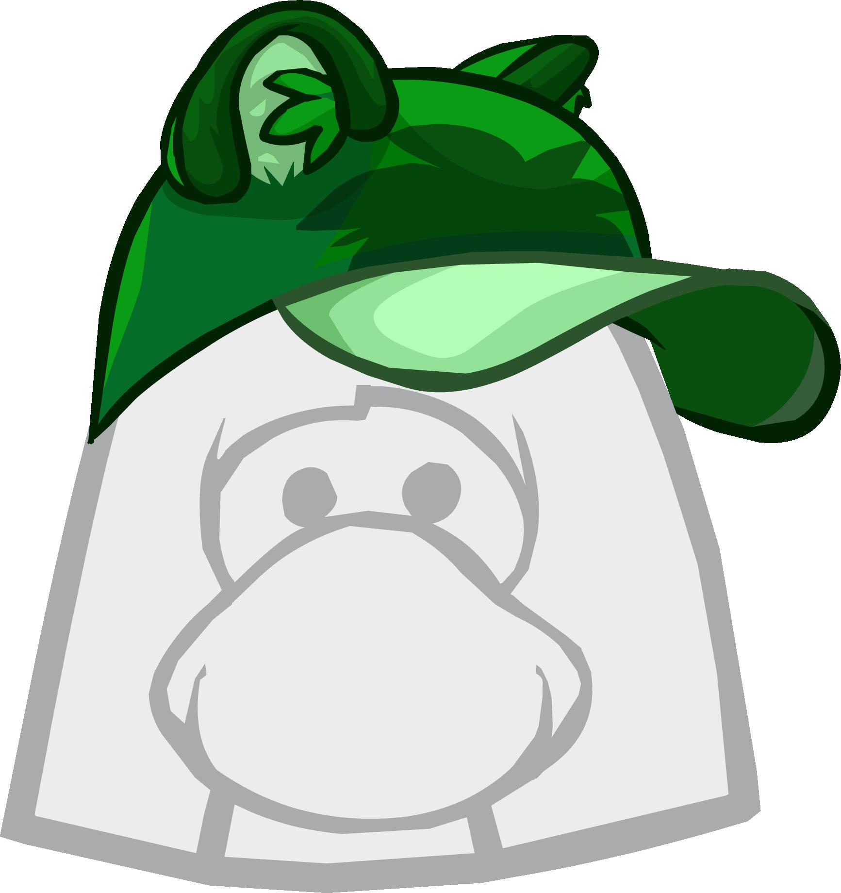 Gorra de Mapache Verde