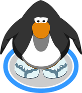 Glacial Sandals In-Game