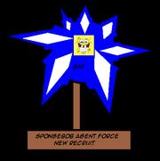 SpongebobAgentNewRecruitAward.png