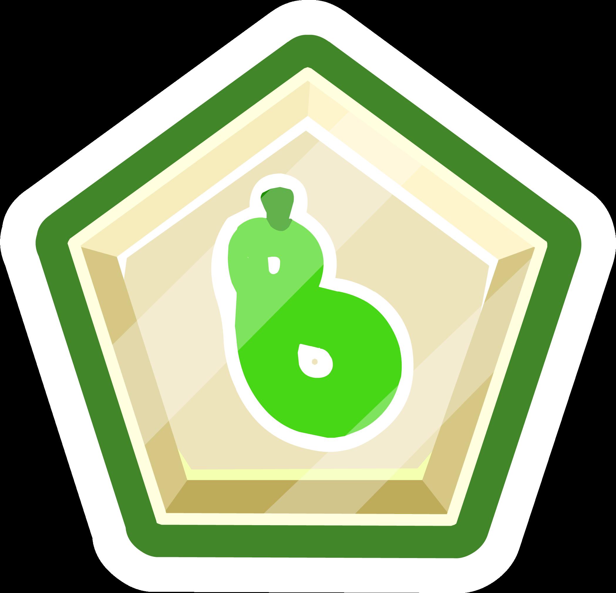 Green O'berry Pin