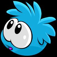 Blue PuffleWorried