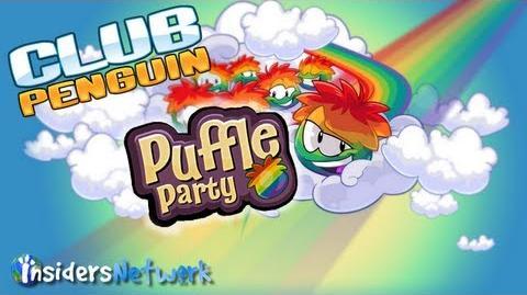 Club Penguin Puffle Party Walkthrough