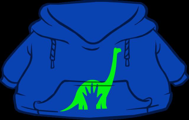 Cangurito de Un Gran Dinosaurio