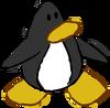Doodle Dimension penguin Black