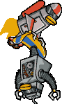 EPF Jet-Bot carrying Snow-Bot