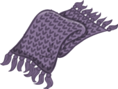 Lavender Knit Scarf icon.png
