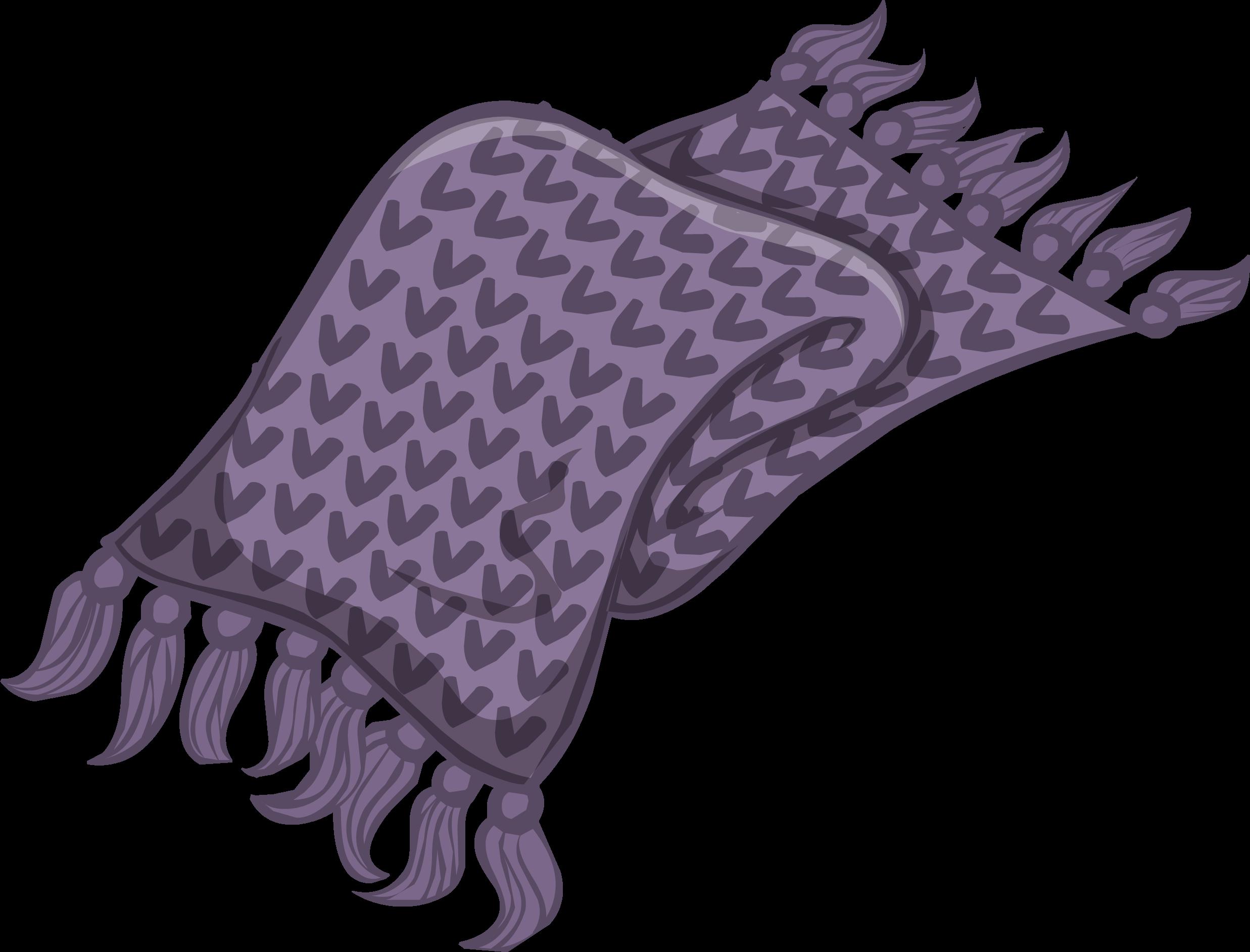 Lavender Knit Scarf