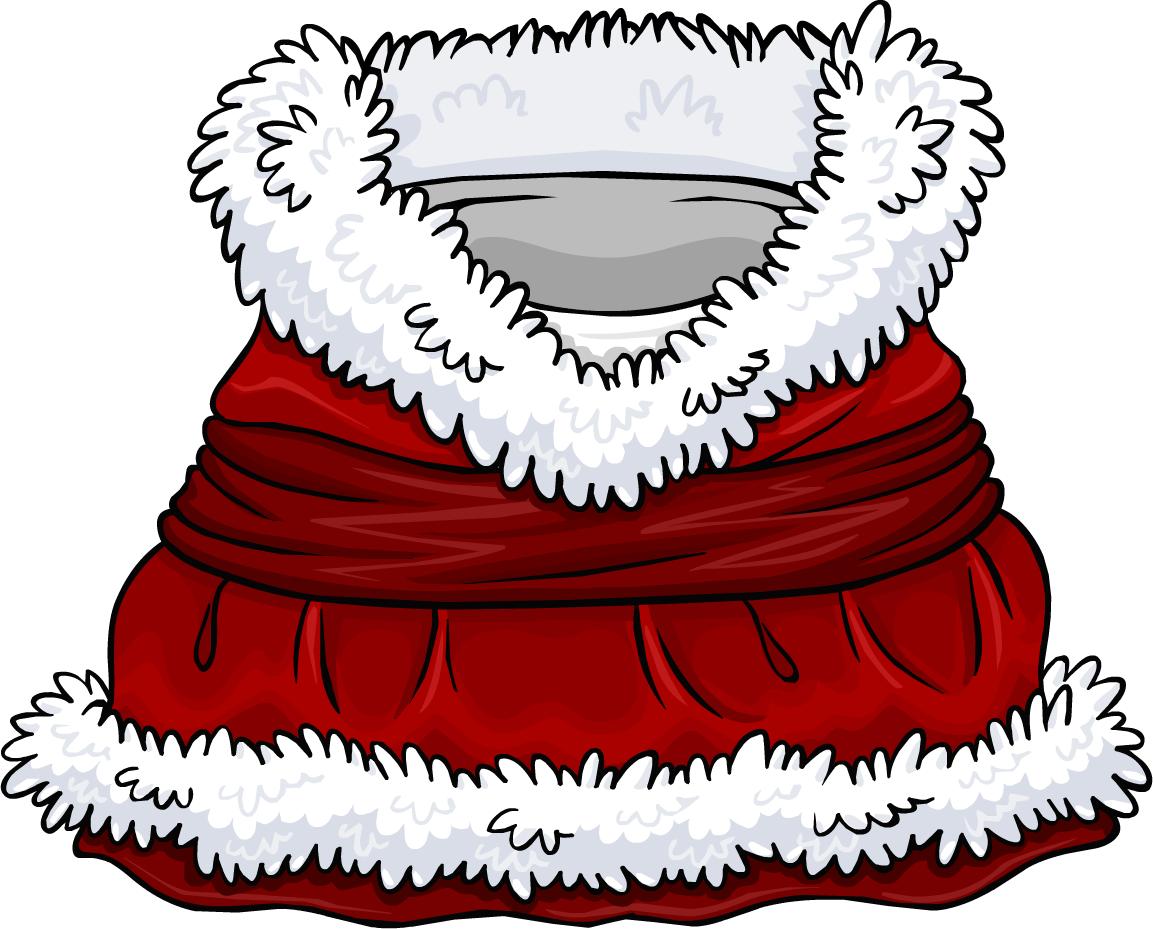 Conjunto de Pingüina Santa Claus