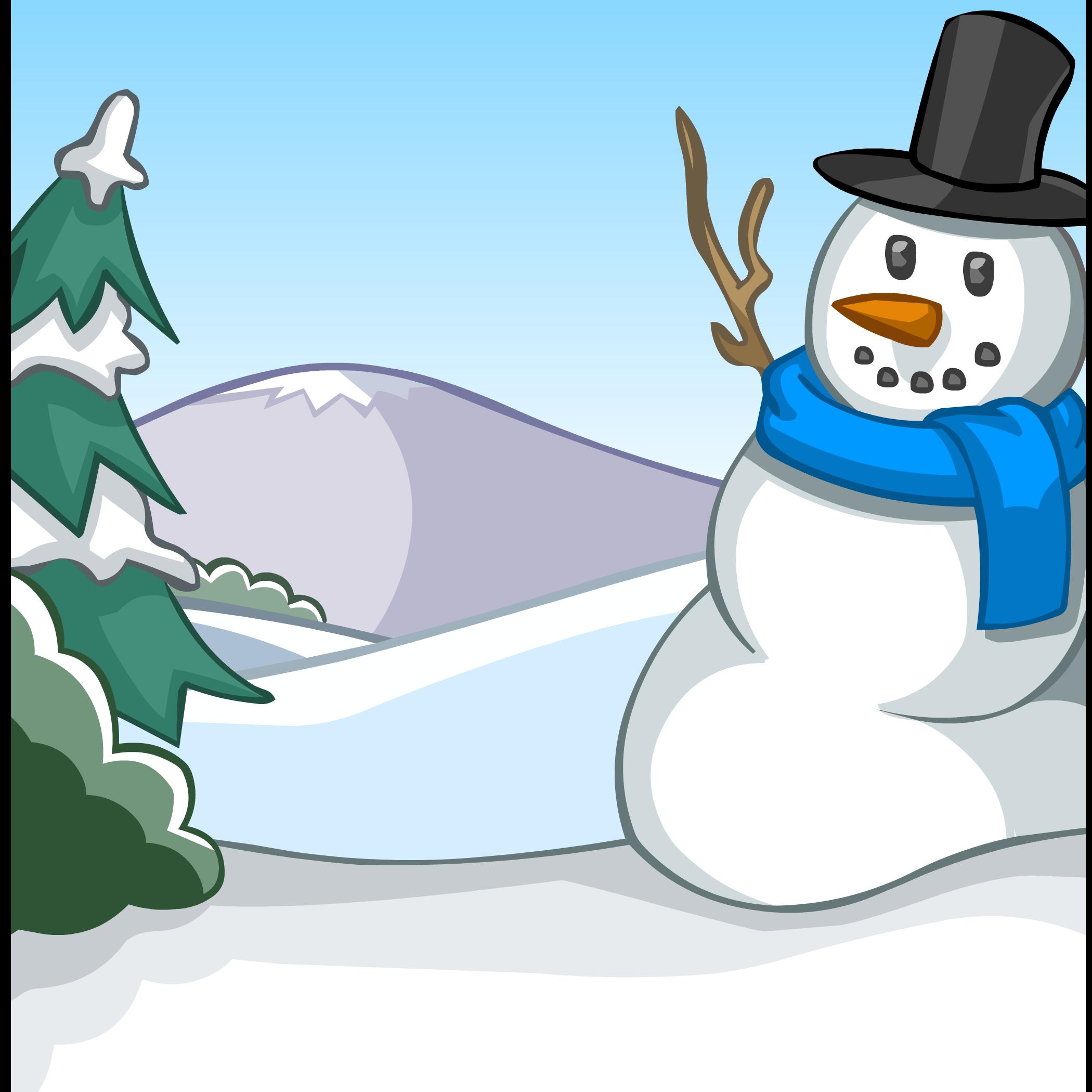 Fondo de Muñeco de Nieve