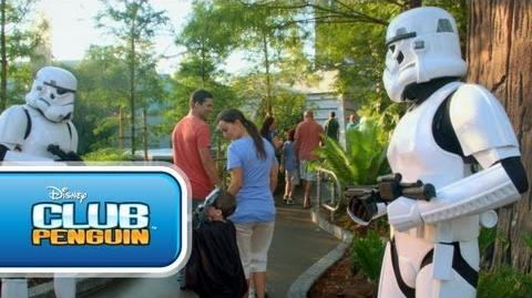 Club Penguin Disney Channel Game On - Star Wars Takeover