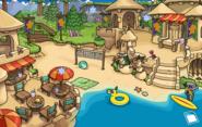 Frozen Party Cove