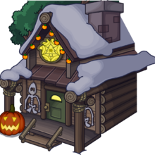 Halloween Party 2015 Ski Lodge exterior.png