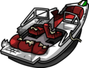 Hydro Hopper boat Marvel Superhero 2013 boom