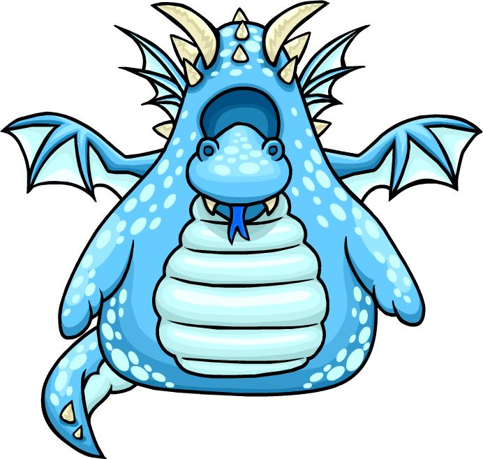 Disfraz de Dragón Celeste