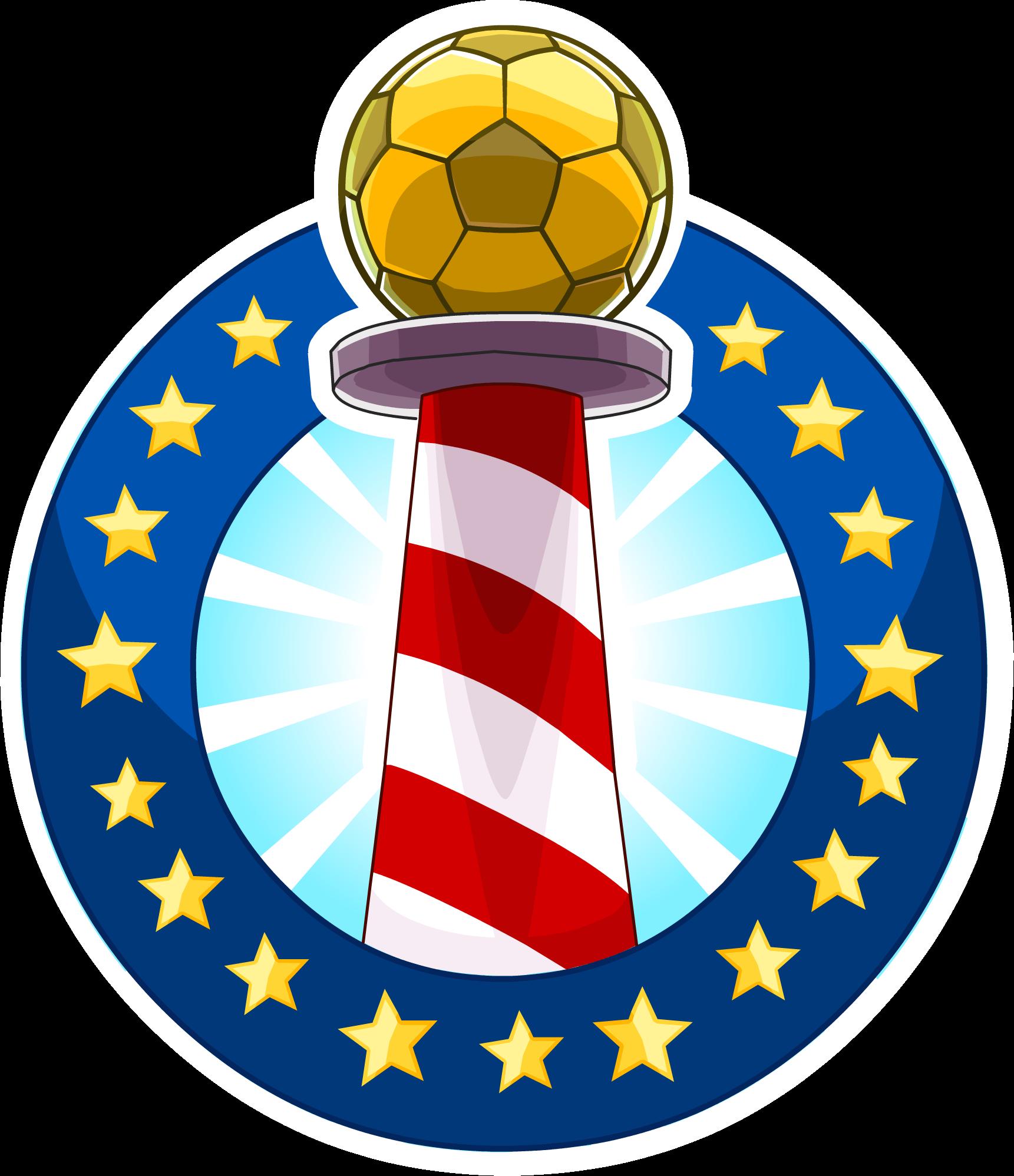 Pin de la Copa Club Penguin 2014