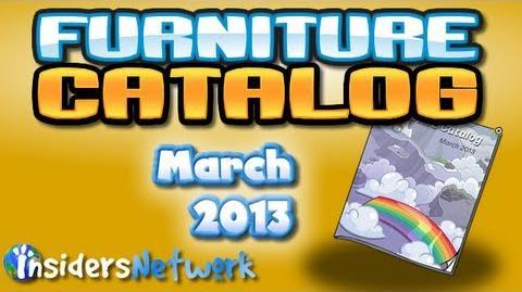 Club Penguin March 2013 Furniture Catalog Cheats