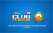 Merry Walrus Party logo screen