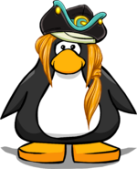 Sombrero de primer oficial tarjeta