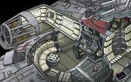 Star Wars Takeover Millenium Falcon