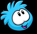 Blue PuffleLookingUp