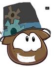 Brown Yoshi puffle