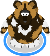 African Painted Dog Costume In-Game