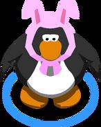 Orejas de conejo rosa 2