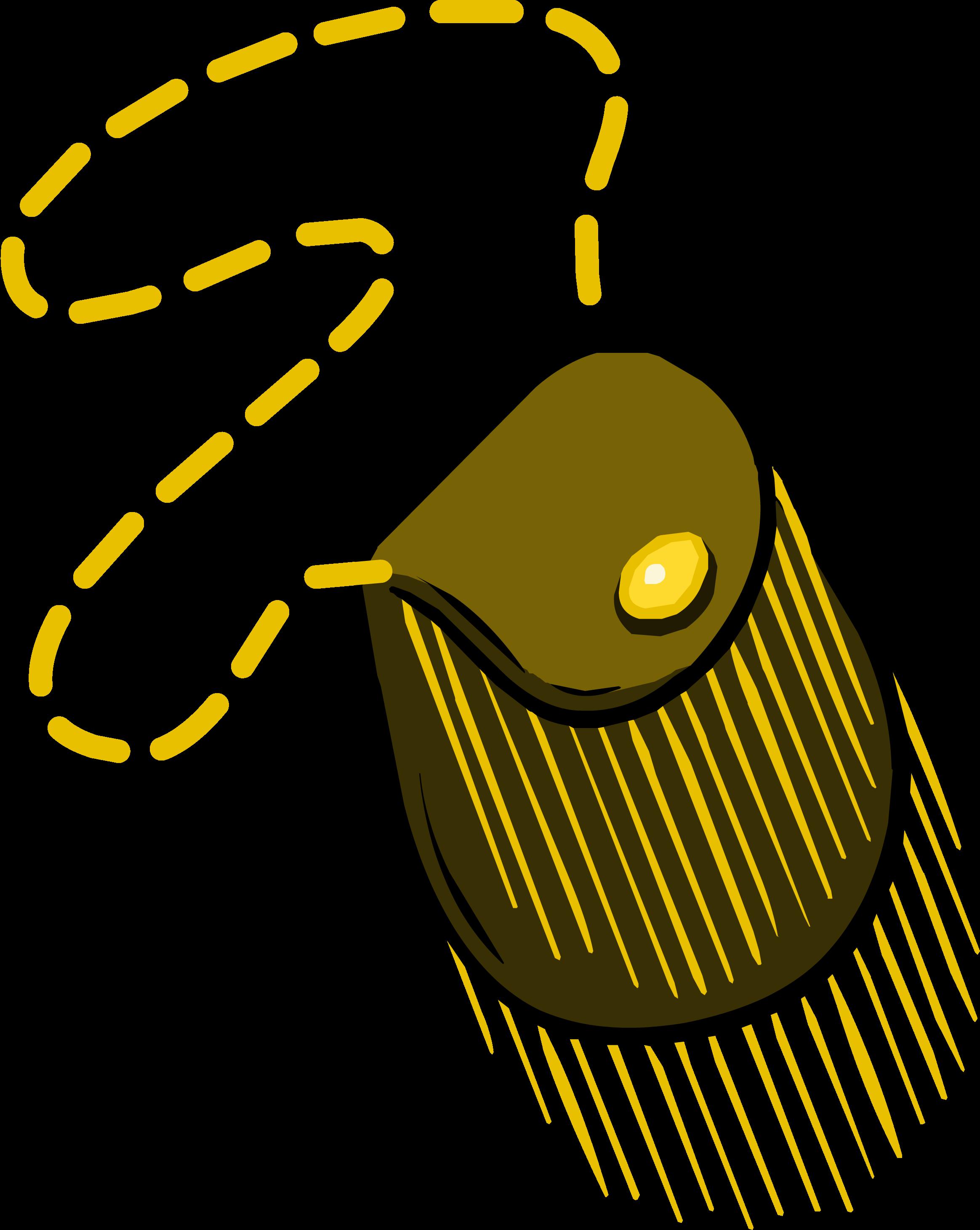 Bolso con Flecos Dorados