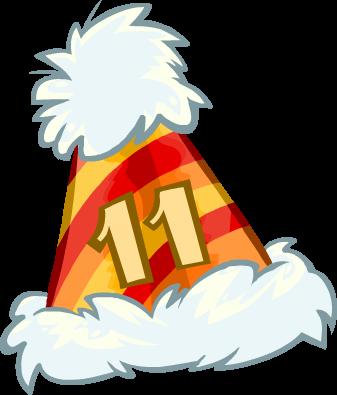 Bonete de 11.º aniversario